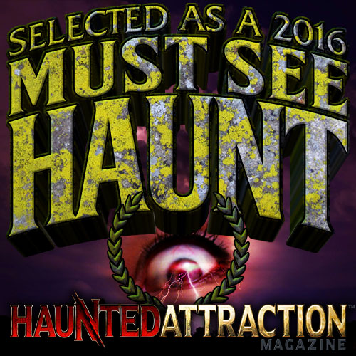 Haunted Attraction Magazine Must See Badge 2016