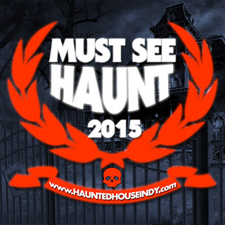HHIndy MUST SEE HAUNT 2015 Badge