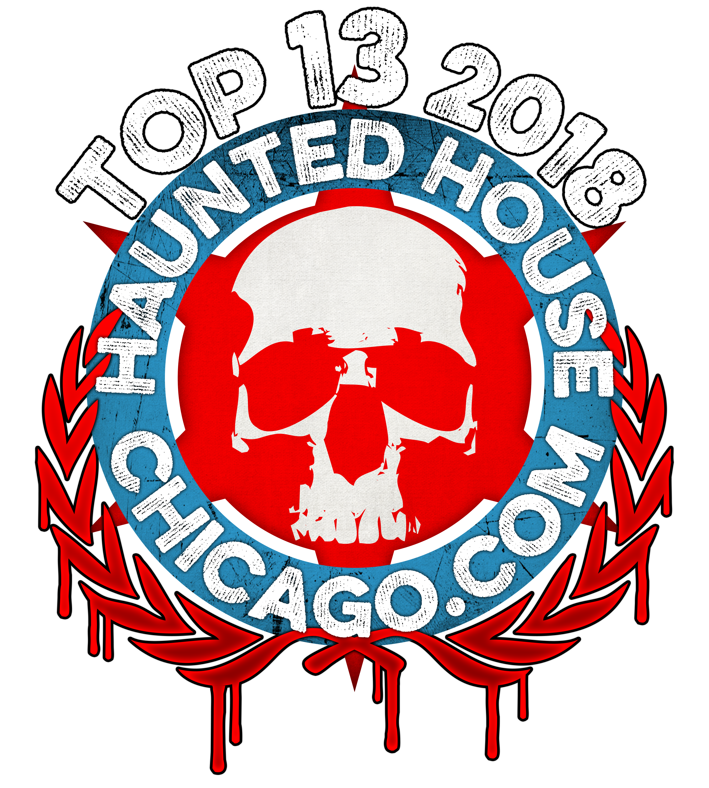 HauntedHouseChicago Top 13 2018 Laurels LARGE